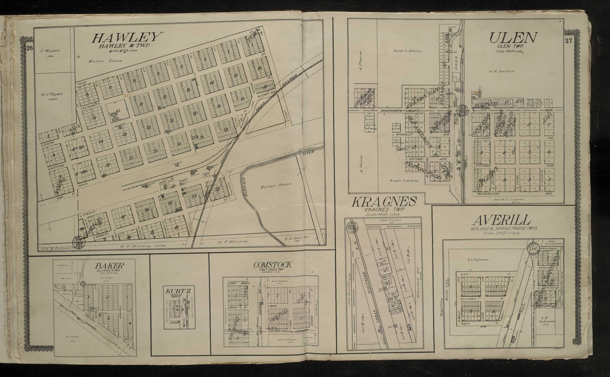 Digitized Plat Maps and Atlases | University of Minnesota Librariesulen township